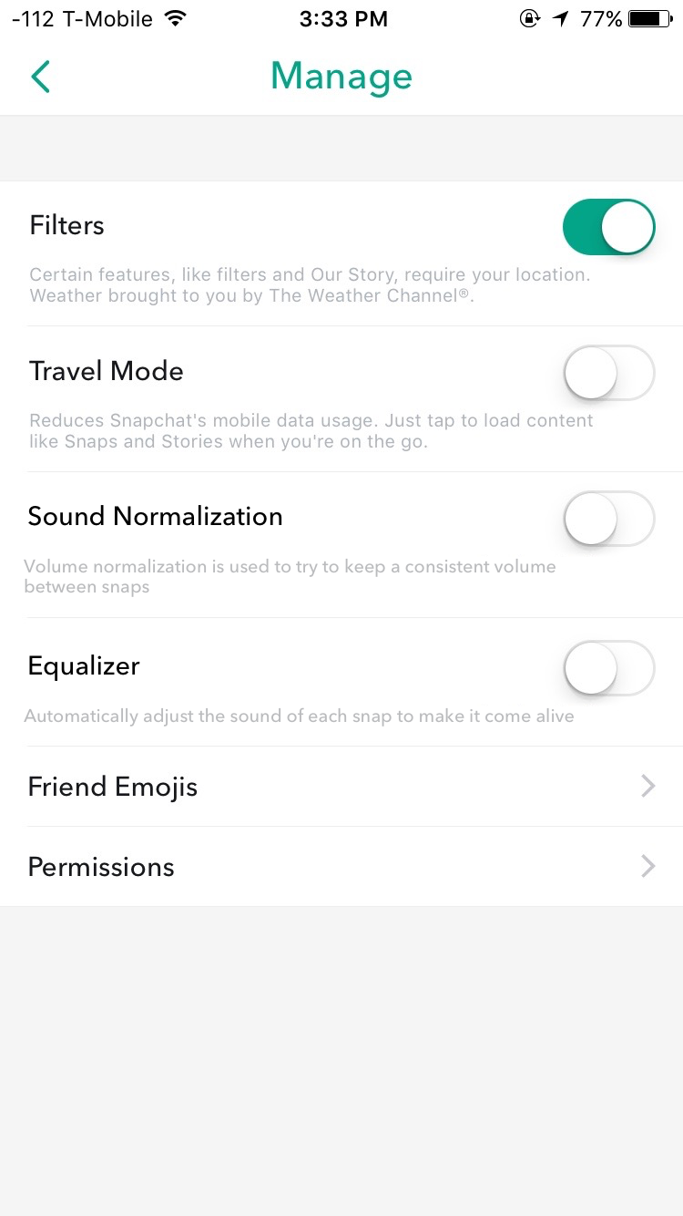 app to remove snapchat filters