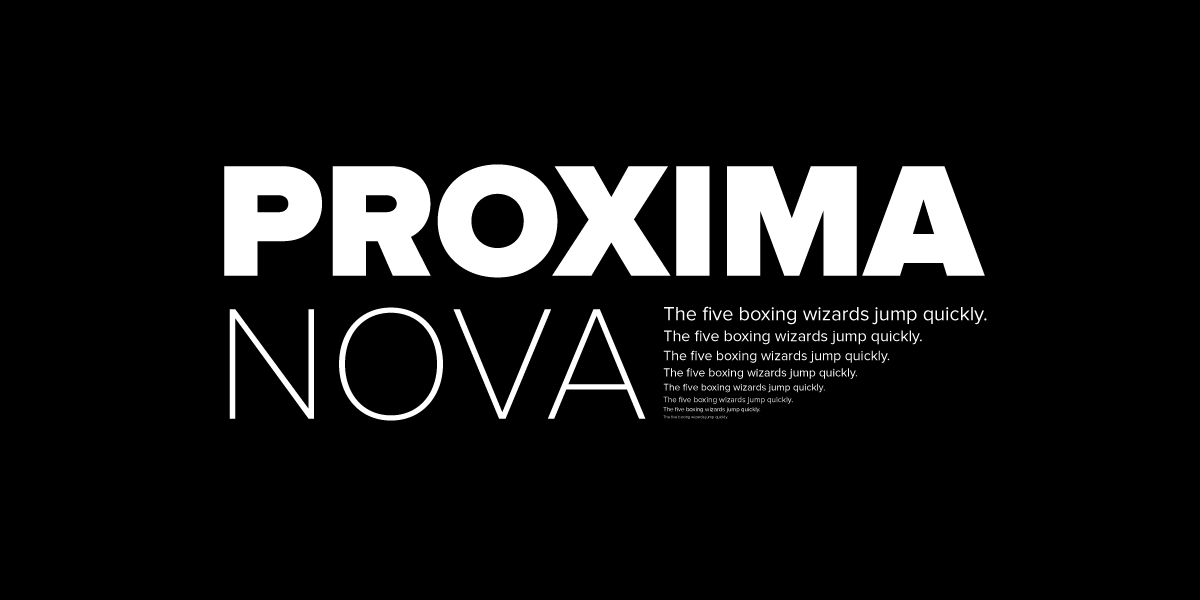 why proxima nova is everywhere mic product blog medium