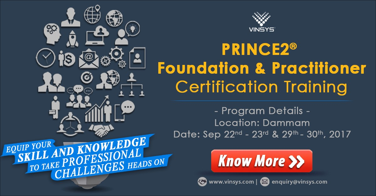Prince2 Certification Will Give You The Skills To Feel Confident In