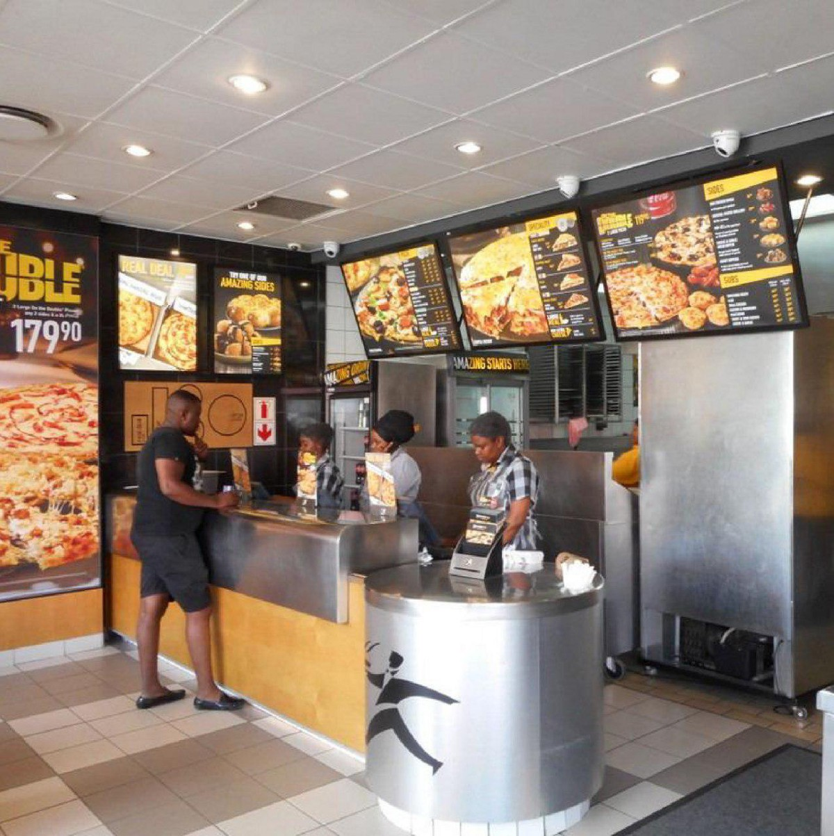 Debonairs Pizza And Face Recognition Technology Faceter