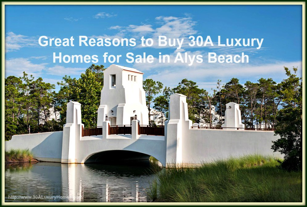 Upon Its Completion Alys Beach Will Be One Of The Largest Communities Along 30a At 158 Acres Twice Size Seaside 80 And
