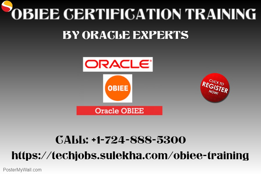 OBIEE Certification Training by Oracle Experts – Sulekha IT