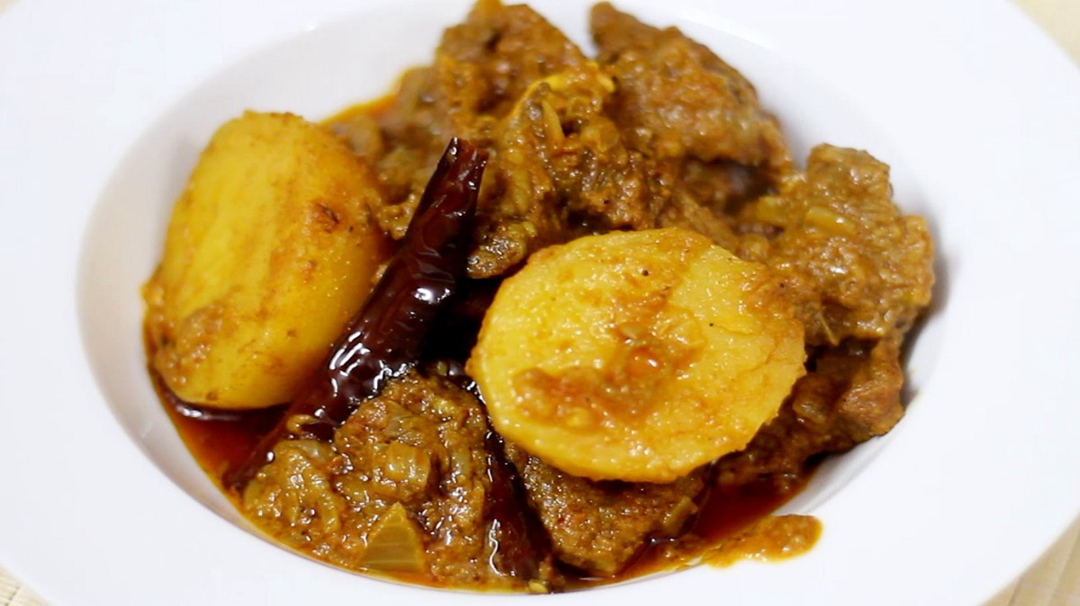 how to make jamaican curry goat