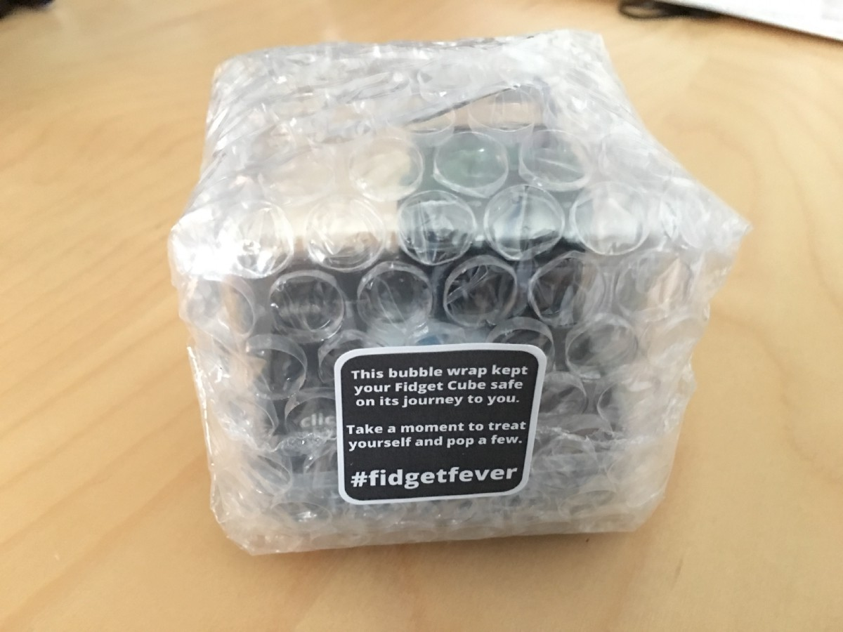 Unboxing Of The Real Fidget Cube