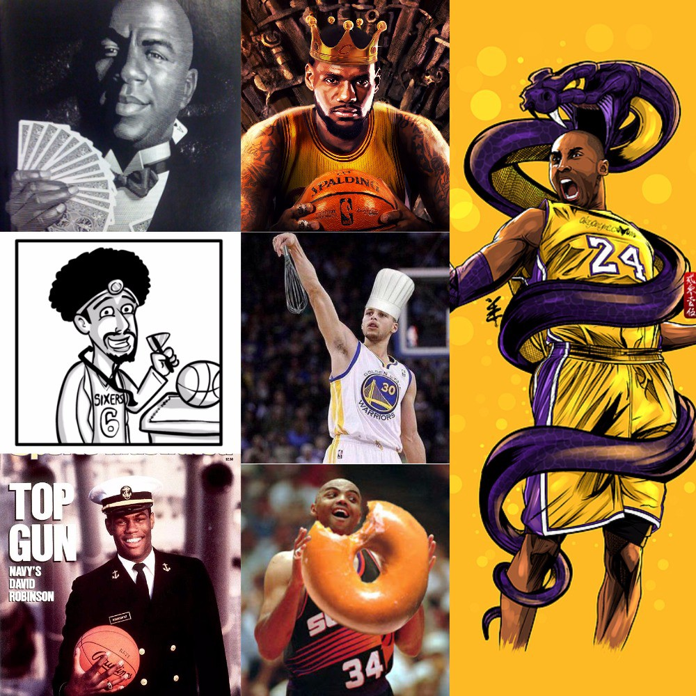 ad134f80391f If the Nicknames of NBA Legends Duked it Out