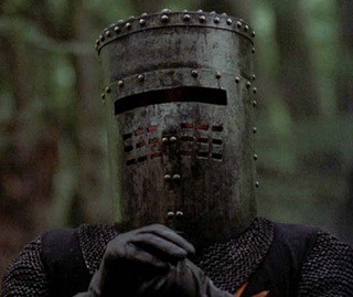 Image result for monty python black knight