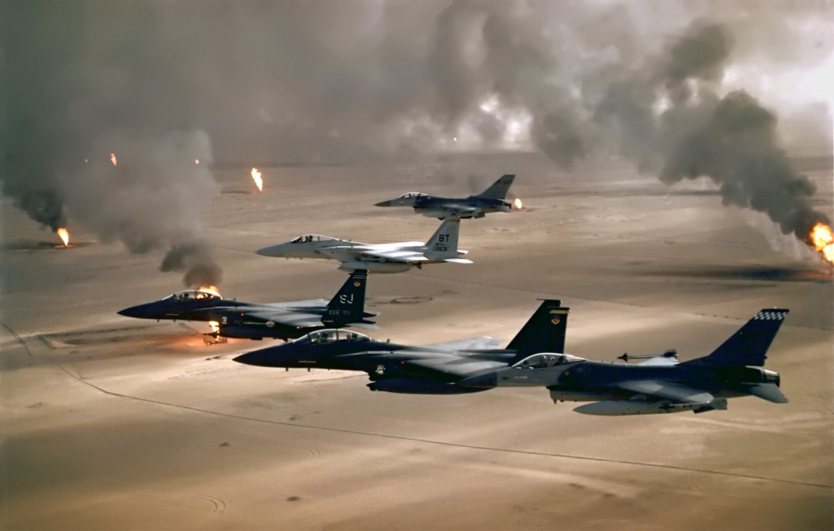 an analysis of the military aircrafts efficiency in war situations during the 1990s According to the best military analysis as civilian--incurred in such situations weapon program began during world war ii and culminated in a successful.