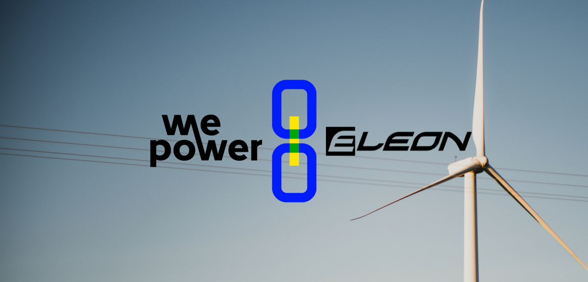 WePower and Eleon connect wind power and blockchain