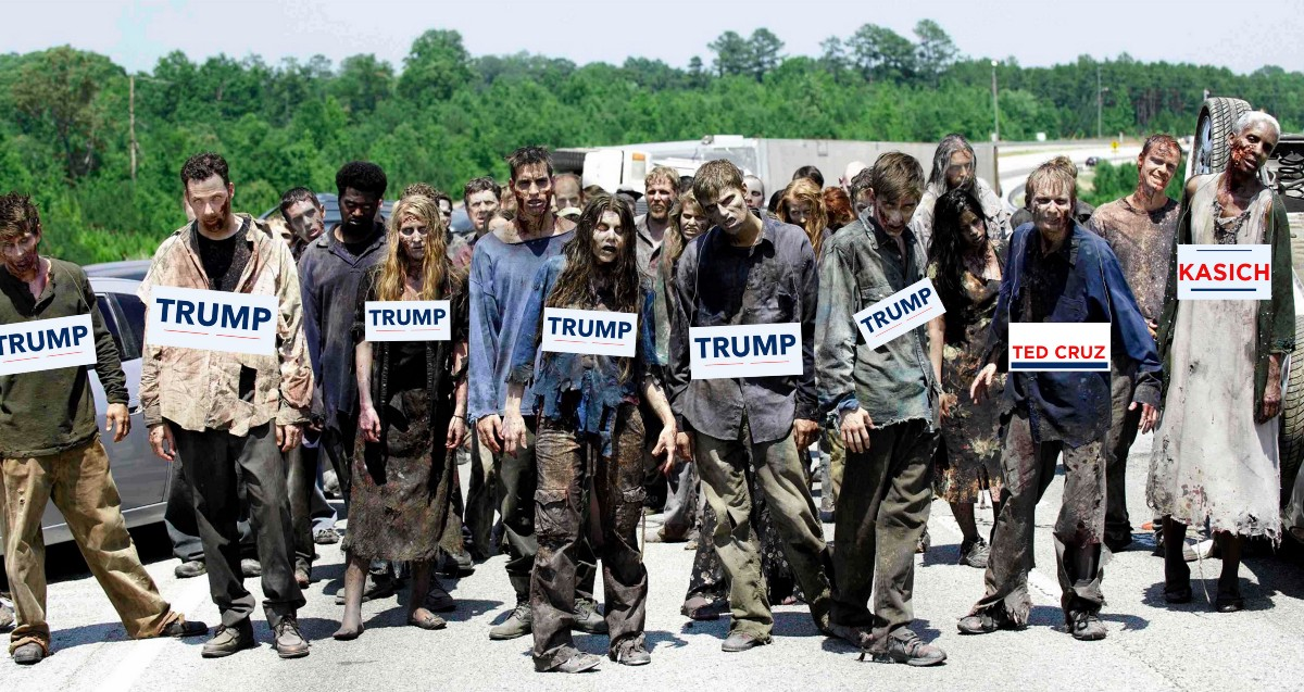 The Walking Dead at the Republican Convention