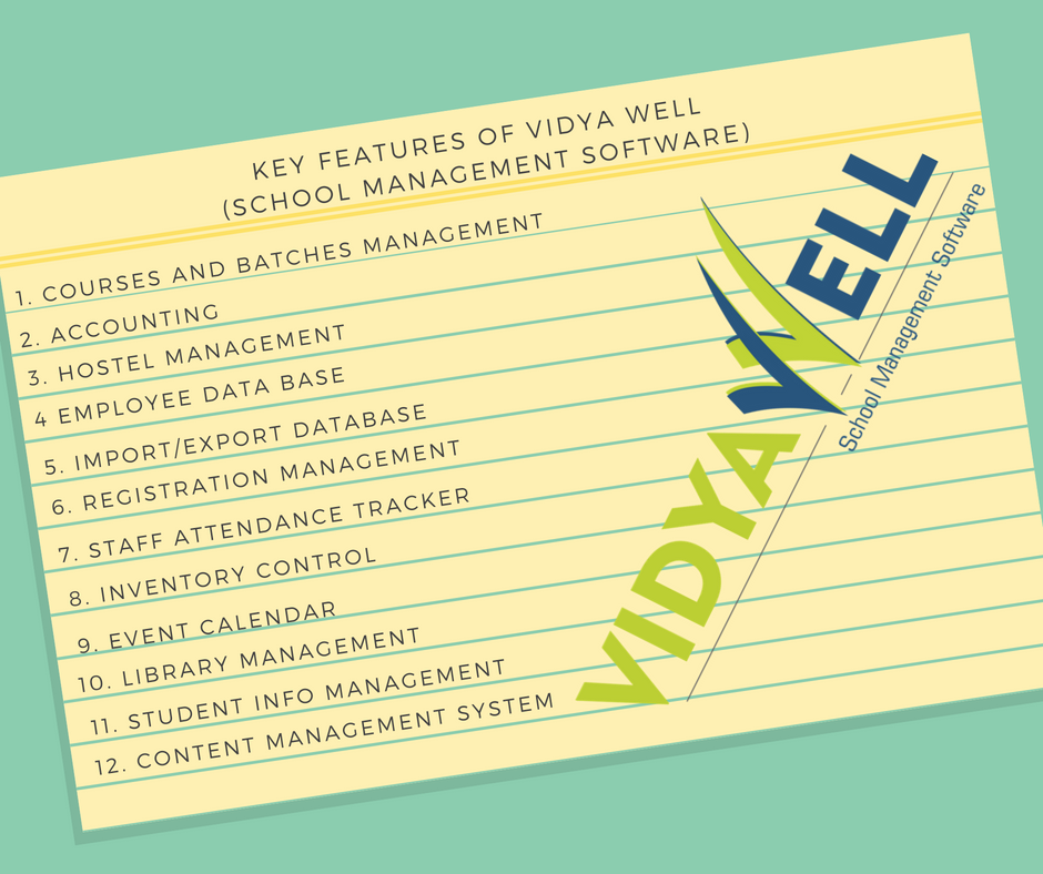 Vidya Well School Management Software Lucknow Vidya Well Medium