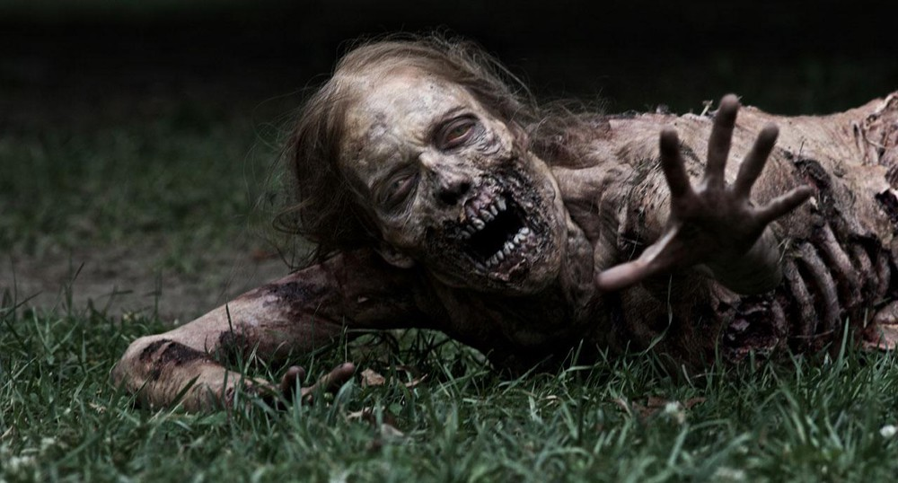 Zombis en The Walking Dead