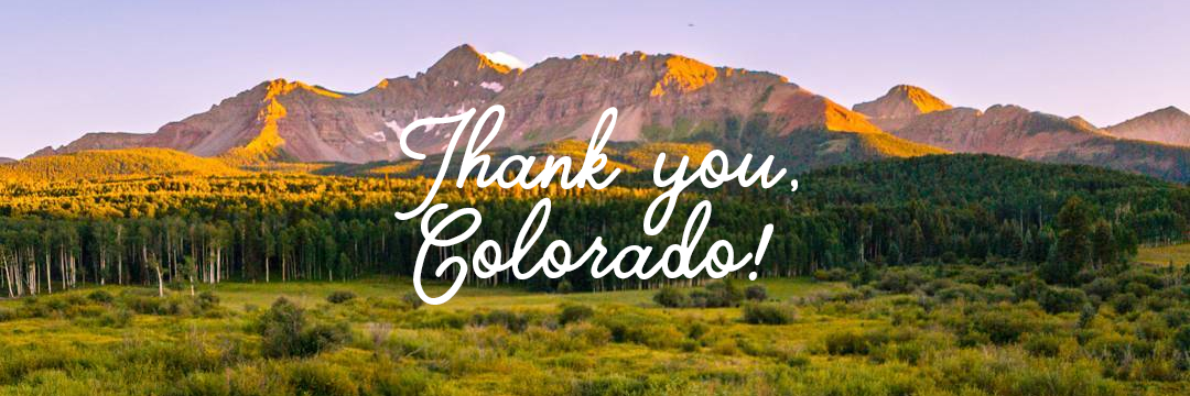 Thank You Letter To Colorado And Its People Paul Tanase Medium