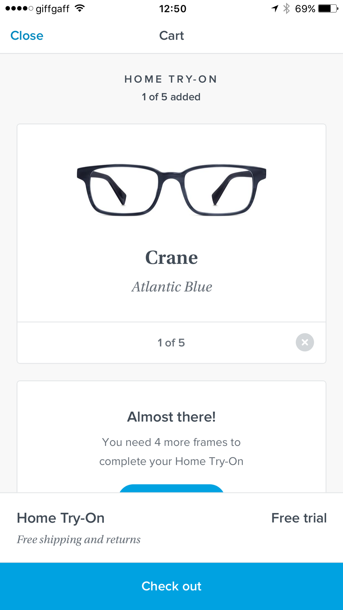 9f103ac0b8 7 Reasons to Idolise the UX of Warby Parker s iPhone App