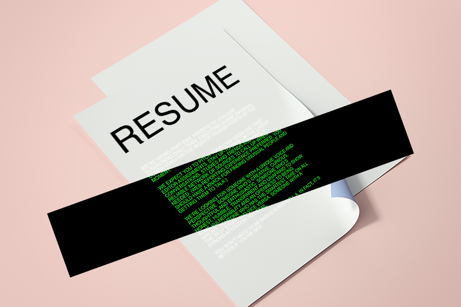 can you game the recruiting algorithm with this résumé hack