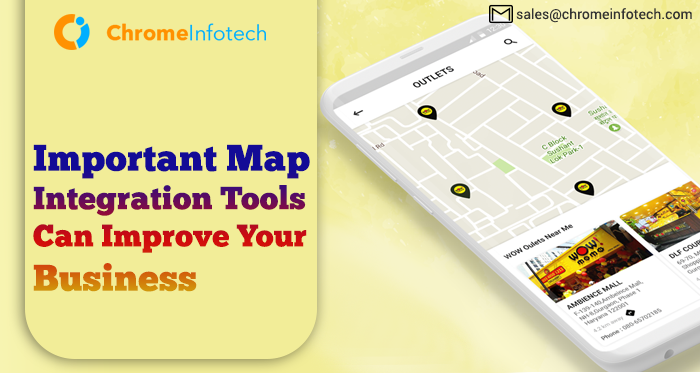 5 Important Map Integration Tools Can Improve Your Business