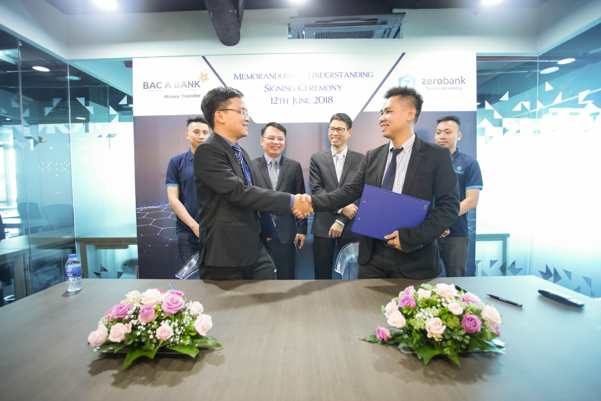 ZeroBank signs a Strategic Partnership with Bac A Money Transfer