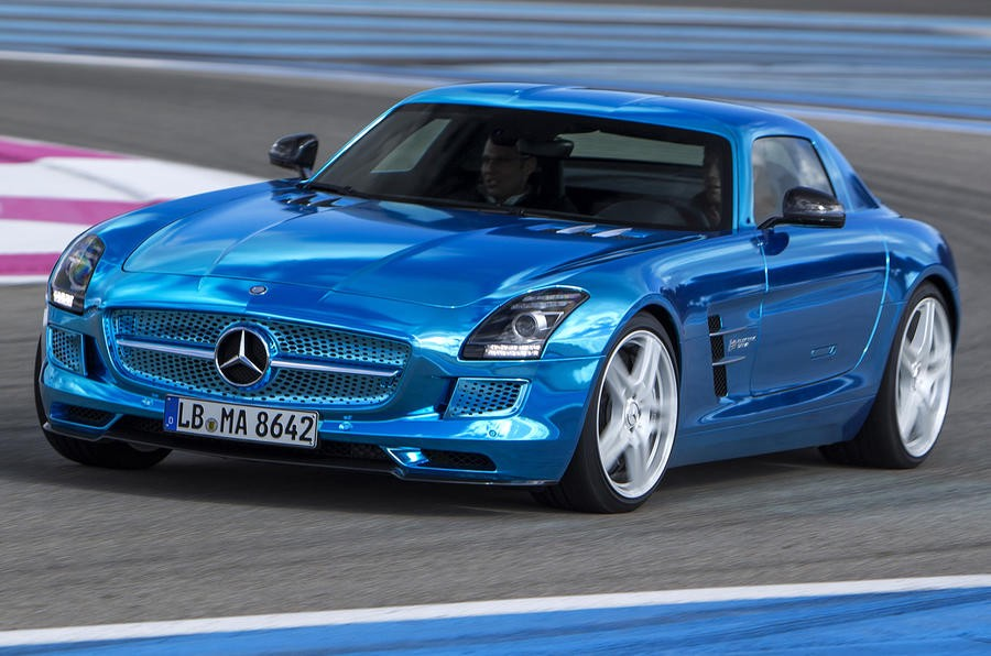Mercedes Sls Electric Drive Electricbee Medium