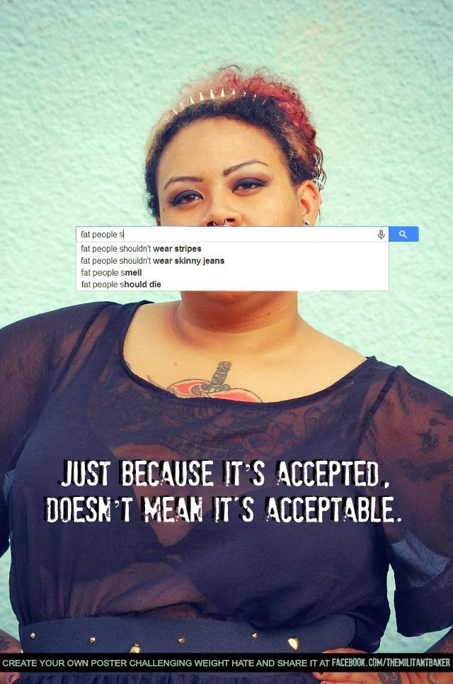 Image result for fatphobia