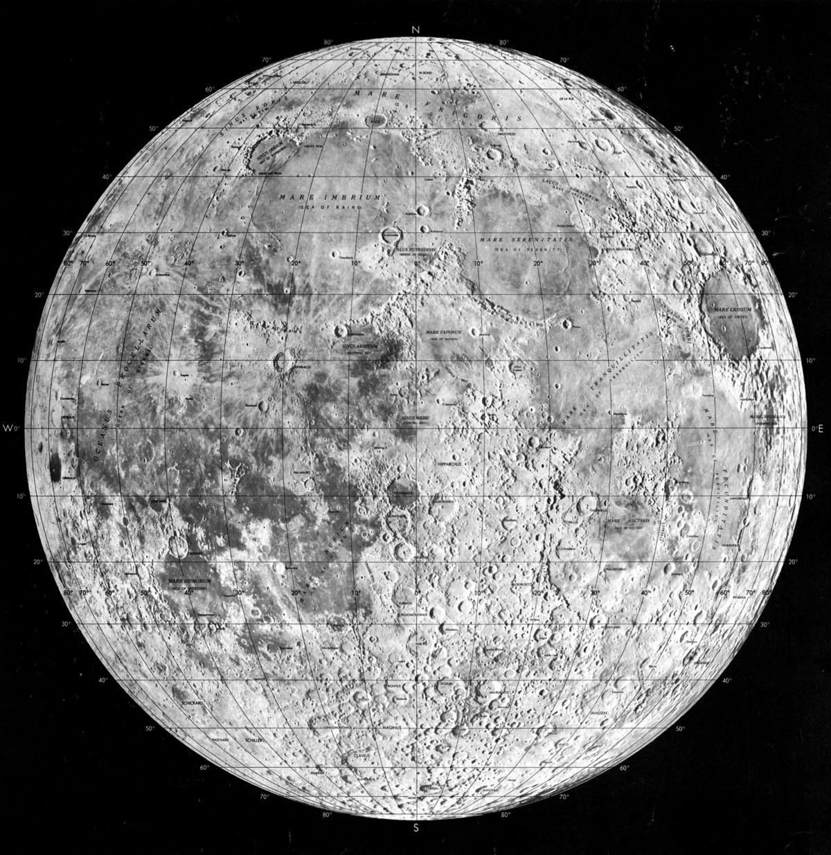 Lunar Maps Paved Way For Moon Exploration The Pathfinder