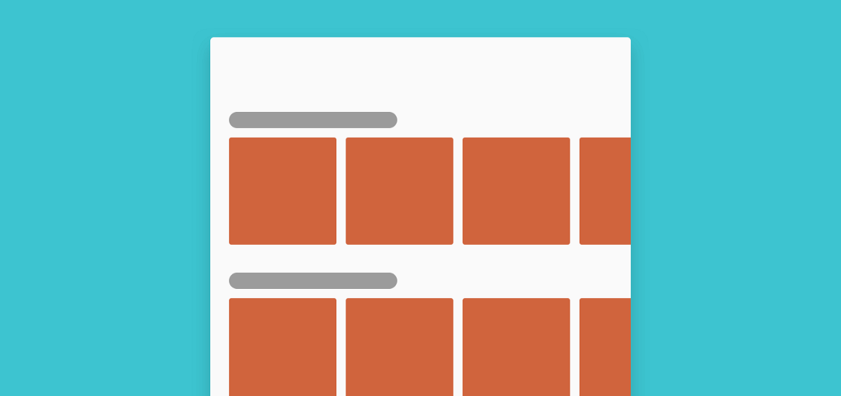 Best Practices for Horizontal Lists in Mobile