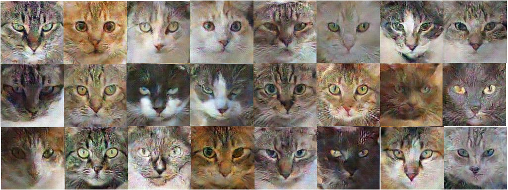 How AI can learn to generate pictures of cats