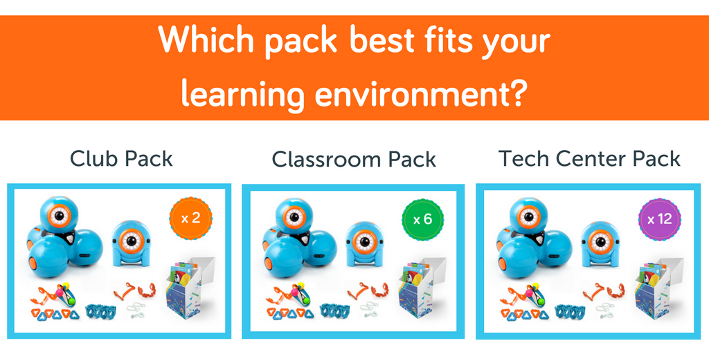 Dot and Dash learning packs