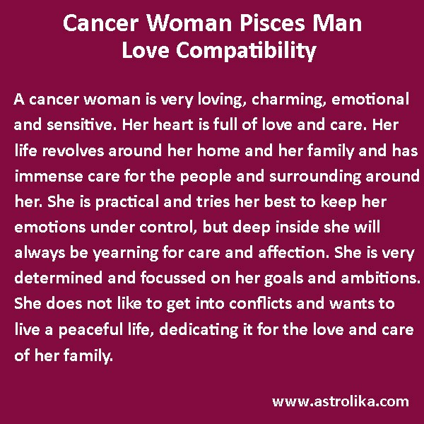 How compatible are pisces and cancer