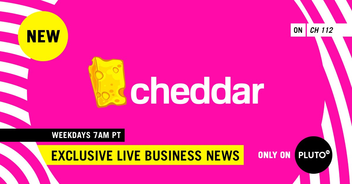 Cheddar And Pluto Tv Launch Exclusive Hour Of Live