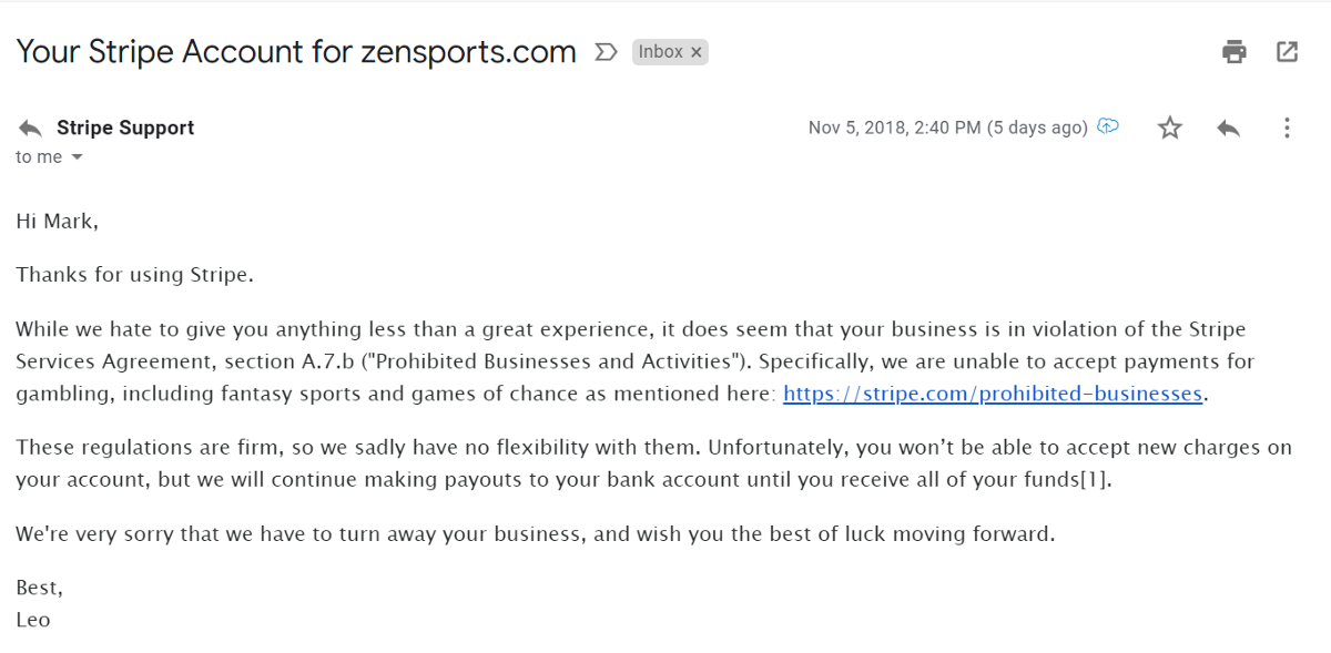 Stripes Decision To Cut Off Zensports Is Why We Need Cryptocurrencies