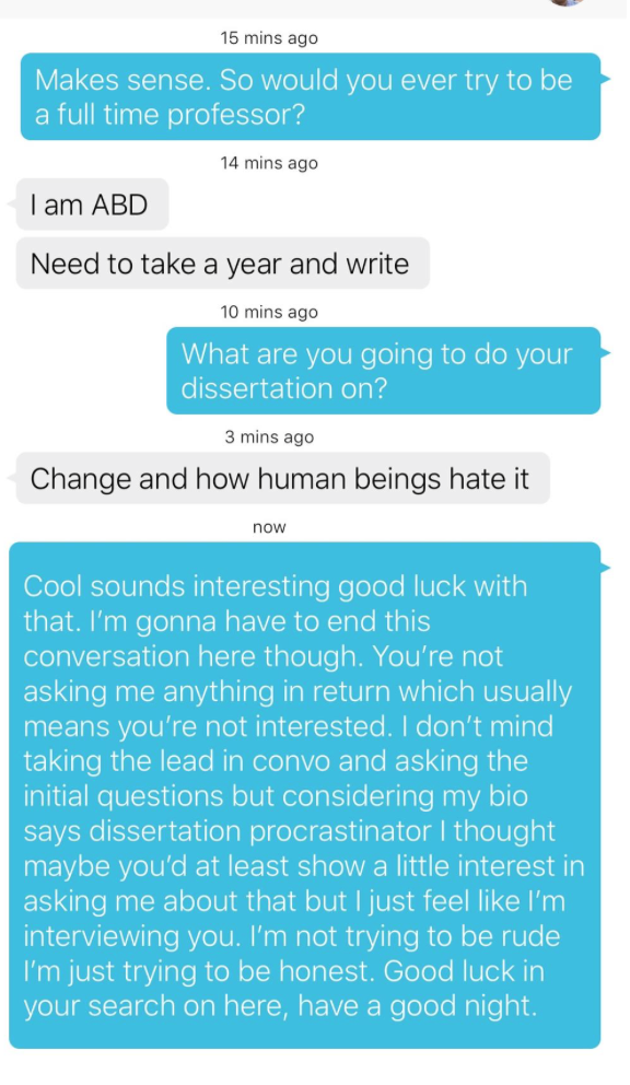 How to turn down someone online dating