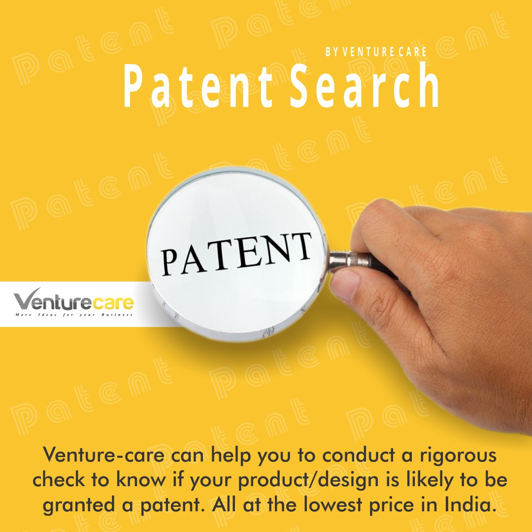 patent search idea with venture-care | patent search services in