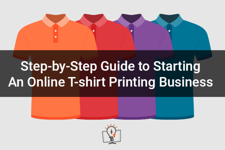 How to start a profitable t shirt business web to print for T shirt printing website