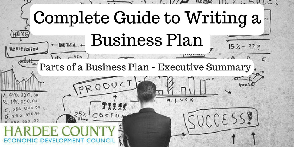 7 parts of a business plan