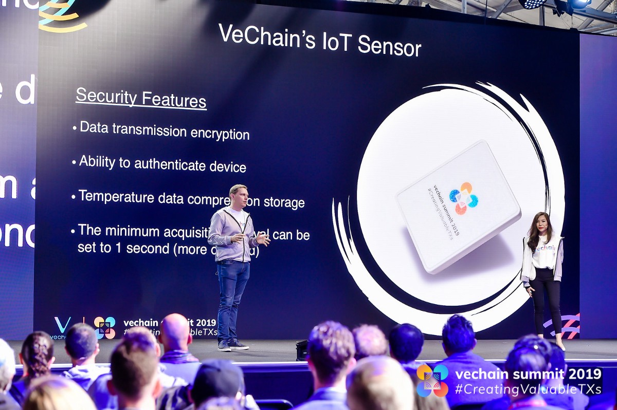 VeChain's state of the art IoT Sensor — Now available as part of ToolChain