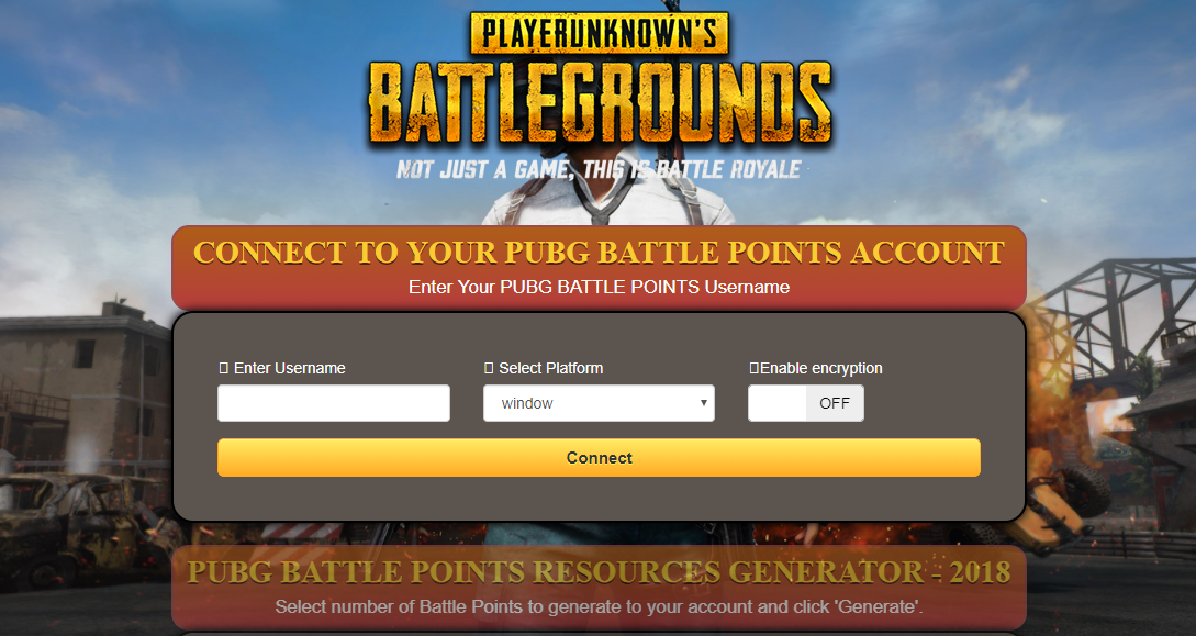 Update Pubg Battle Points Generator Pubg Mobile Hack 2019 - pubg mobile hack hacking device asks for a survey with a view to have a human verification other websites are coming up with fake statistics about free