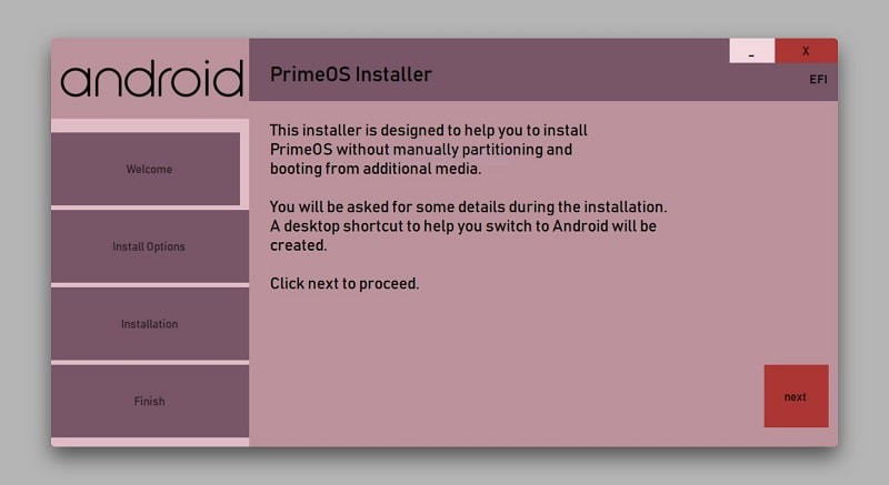PrimeOS: Android Home for Desktops