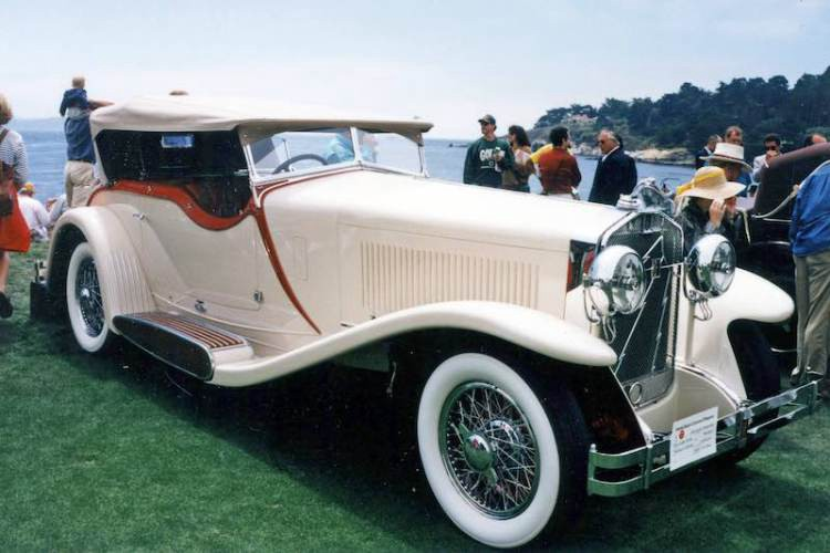 isotta fraschini to feature at pebble beach my classic garage