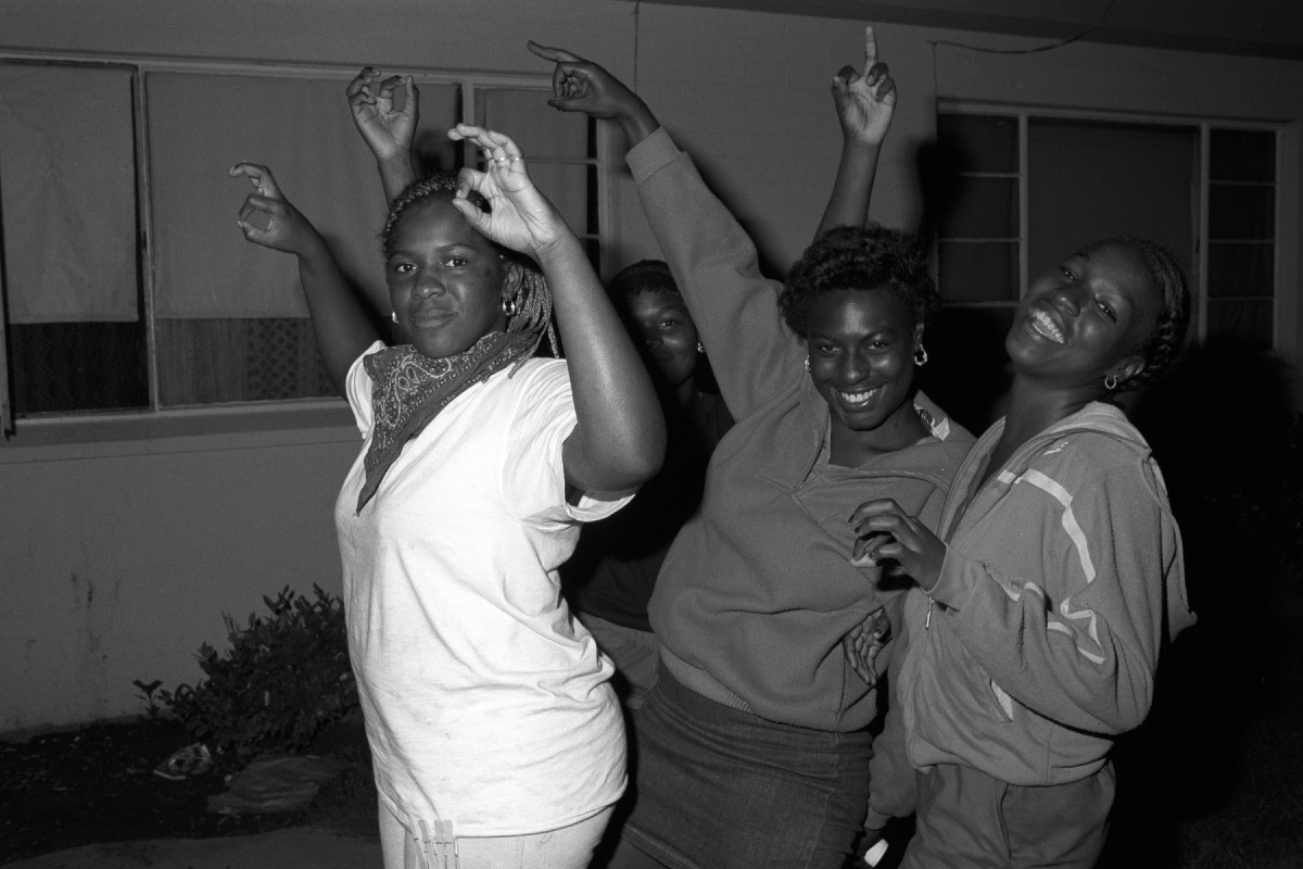 In the 1980s gang signs were the secret visual language of the members and affiliates of the grape street crips throw g and w hand signs in the jordan downs housing project in watts axel koestercorbis via getty biocorpaavc