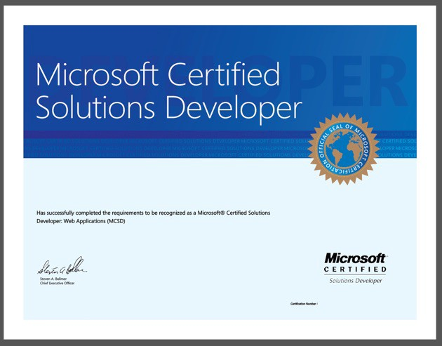 How To Become An Mcsd Microsoft Certified Solutions Developer Part 3