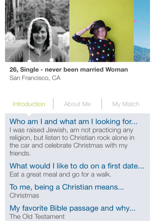 Testament dating site