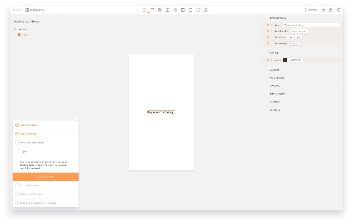 New design to code tool launched!