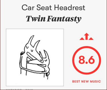Twin Fantasty On Pitchfork The Gold Standard Of Music Journalism Today Car Seat Headrest