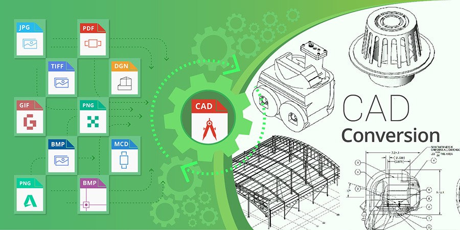 Convert your Existing 2D Drawings to 3D CAD Models – Mechanical 3D Modelling – Medium