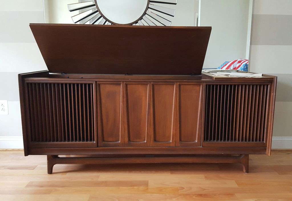 bringing a vintage reel to reel console stereo into the modern world