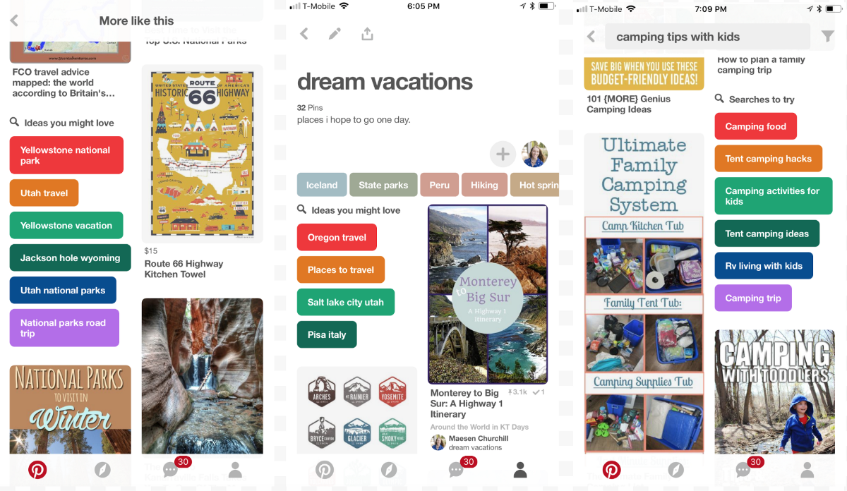Evolving Search Recommendations On Pinterest