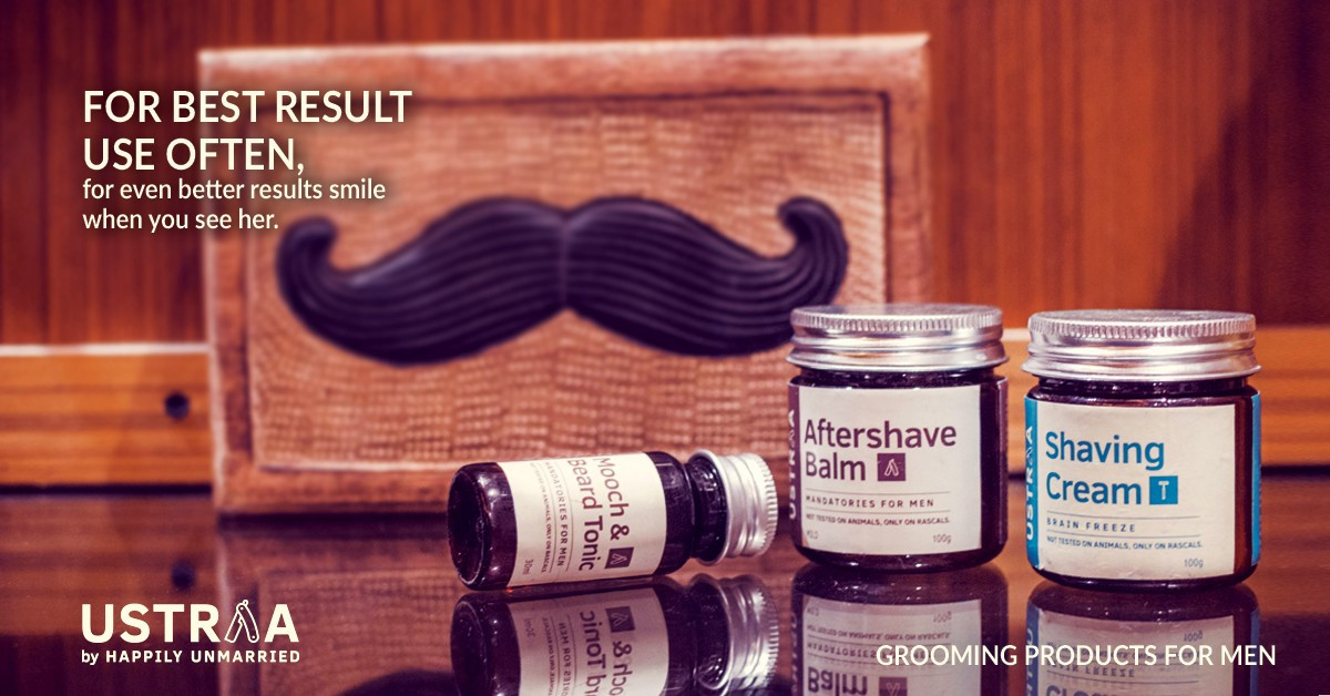Ustraa By Happily Unmarried Redefines The Indian Male Grooming Industry