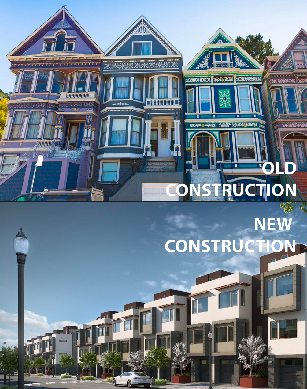 To Buy Or Not To Buy New Vs Old Construction Data Bay Area Medium
