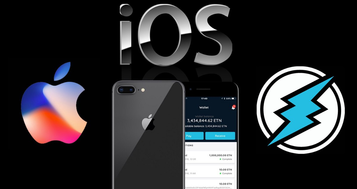 Testing Electroneum ETN Apple iOS App Beta and Moving Millions Instantly.