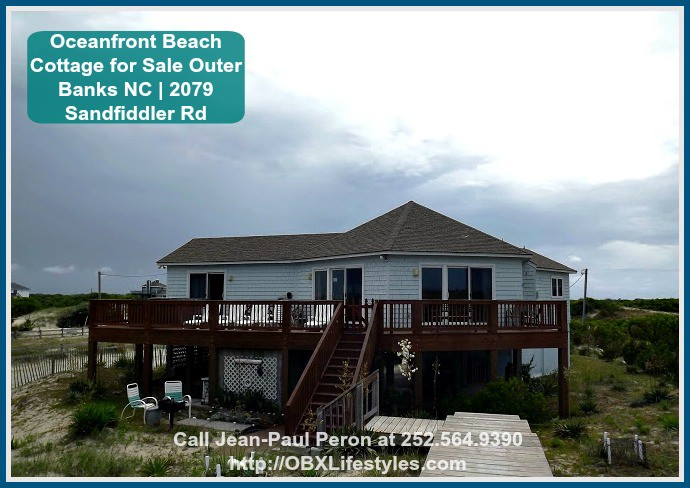Built In 1983 This Oceanfront Beach Cottage Is Located Carova A Community The Heart Of 4wd Beaches Currituck Outer Banks Where Corolla