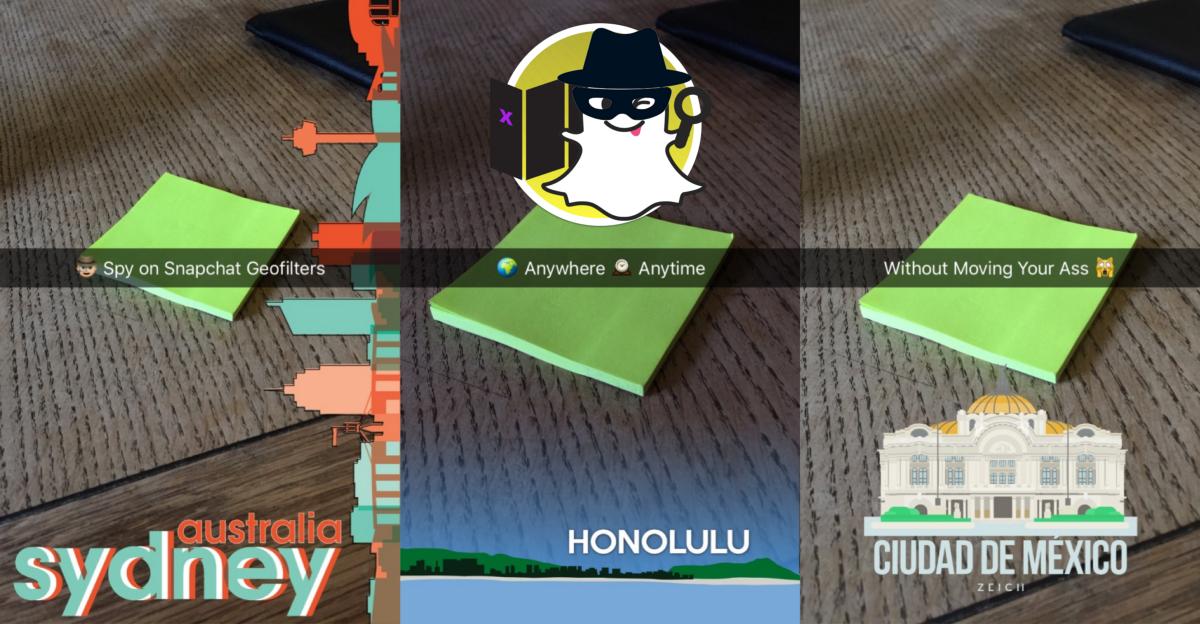 how to add location on snapchat story